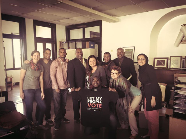 Awesome prep meeting with some pretty amazing community leaders and organizers. We are getting ready for the Prop 47 Townhall with the California Board of State and Community Corrections. It's happening on the 29th in LA.