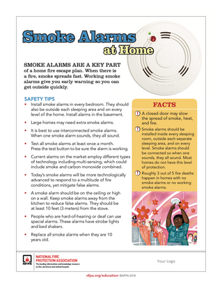 Spring Forward with 10 Year Lithium Battery Smoke Alarms