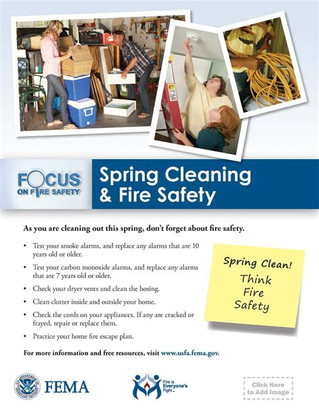 """""""Spring"""" Into the New Season With Fire Safety"""