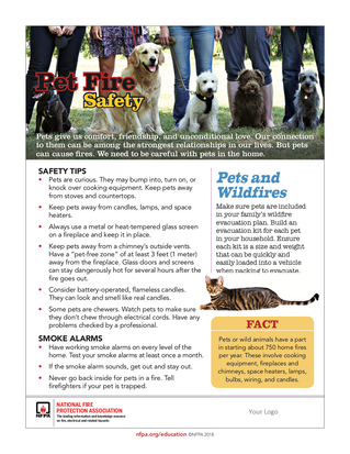 Keep Your Pets On a Short Leash With Pet Fire Safety!