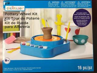 Michaels Recalls Pottery Wheel Kits Due Fire and Burn Hazard