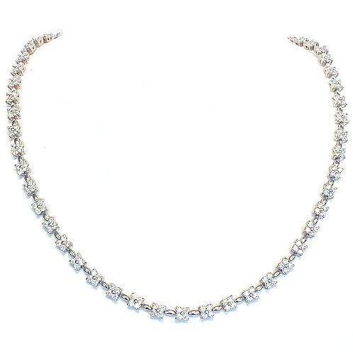6.61CT. ETERNITY STYLE DIAMOND NECKLACE