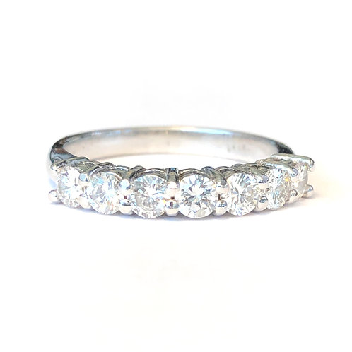 0.68CT. CLASSIC ROUND DIAMOND ANNIVERSARY BAND