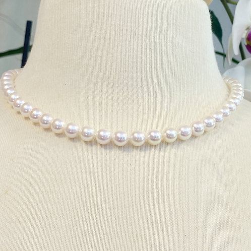 AA QUALITY JAPANESE AKOYA PEARL STRAND NECKLACE