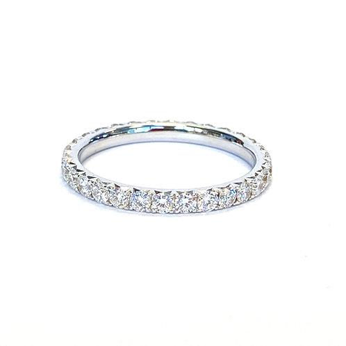 0.90CT. ROUND DIAMOND ETERNITY BAND SIZE 6