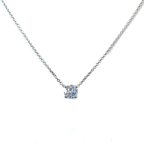 0.30CT. DIAMOND SOLITAIRE NECKLACE