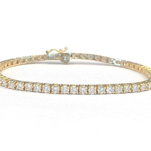 CLASSIC ROUND DIAMOND TENNIS BRACELET