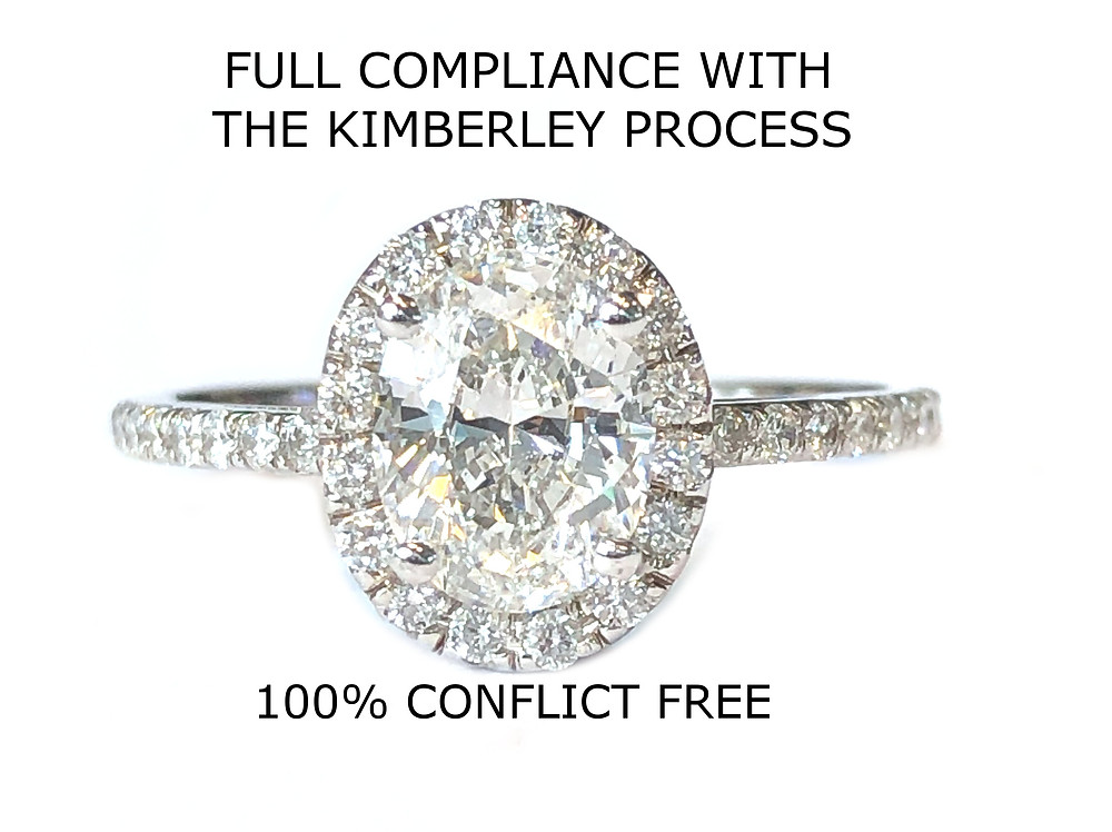We are in full compliance with The Kimberley Process