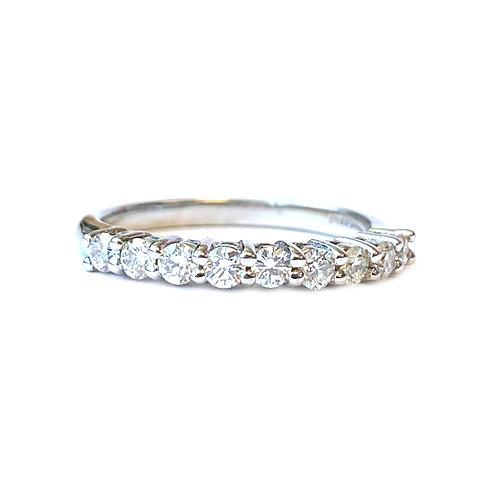 14KTWG CLASSIC DIAMOND ANNIVERSARY STYLE BAND
