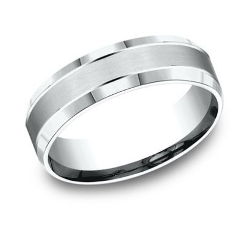 Benchmark® 6MM CENTER CUTS MEN'S BAND SIZE8.5