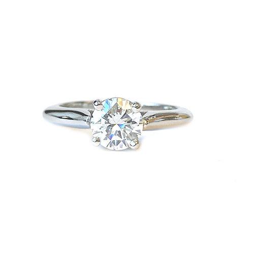 PREMIUM DIAMOND GIA 1.00 CT. ROUND DIAMOND SOLITAIRE RING