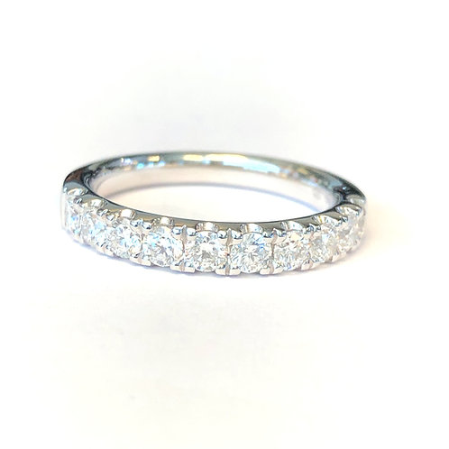 0.82CT. PAVE DIAMOND ANNIVERSARY BAND