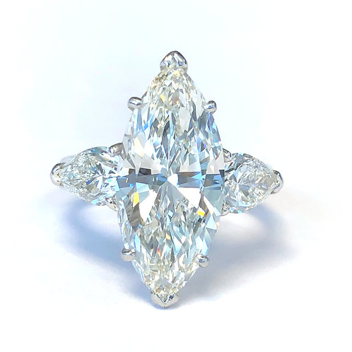 5.02 CT. MARQUISE DIAMOND ENGAGEMENT RING