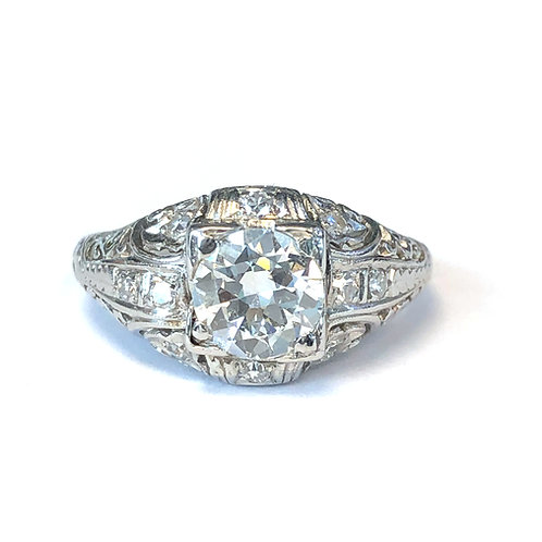 0.84 CT. ART DECO DIAMOND RING