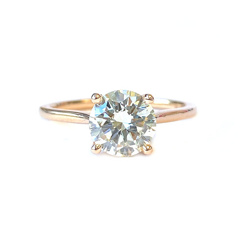 1.50CT. GIA DIAMOND ENGAGEMENT RING IN ROSE GOLD