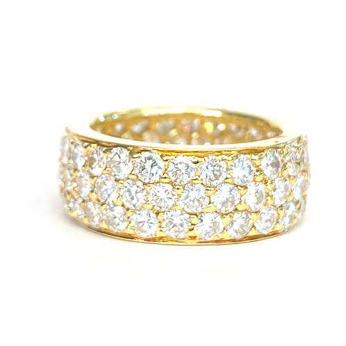 4.50CT. PAVE DIAMOND ETERNITY BAND