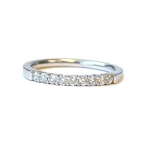 PLATINUM 0.23CT. DIAMOND ANNIVERSARY BAND