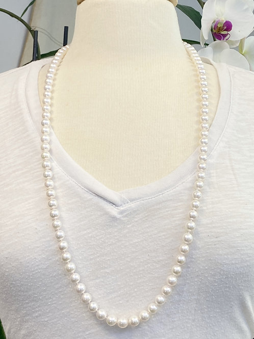 "33"" 8.5-9MM AA QUALITY JAPANESE AKOYA PEARL NECKLACE"