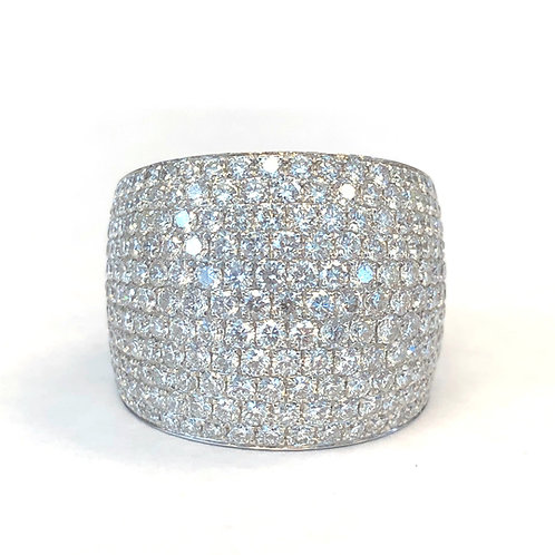 3.31CT. PAVE DIAMOND FASHION RING
