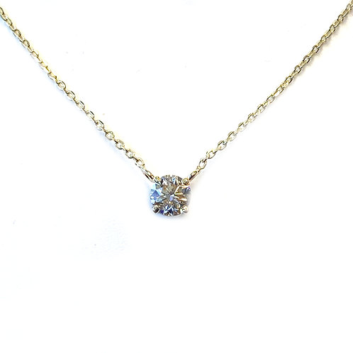 0.56CT. ROUND DIAMOND SOLITAIRE NECKLACE