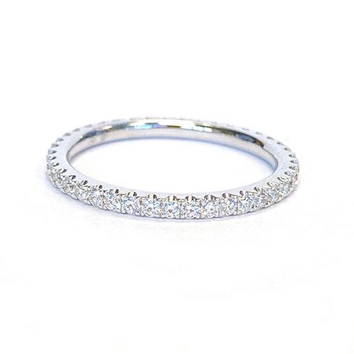 0.53CT. ROUND DIAMOND ETERNITY BAND