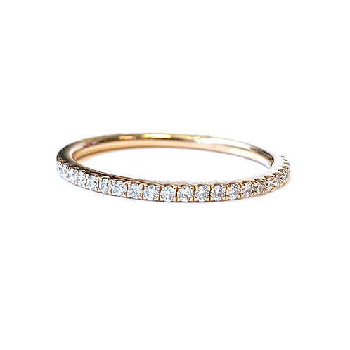 0.18CT. PETITE MICRO-PAVE STYLE DIAMOND BAND