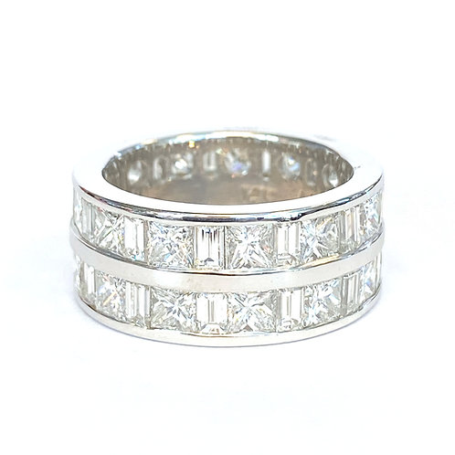 6.00CT. CHANNEL STYLE DIAMOND BAND