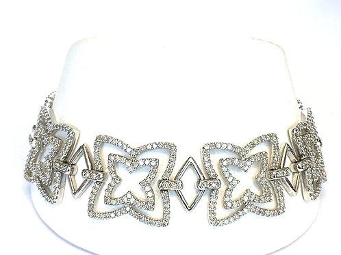 DIAMOND FLORAL STYLE BRACELET