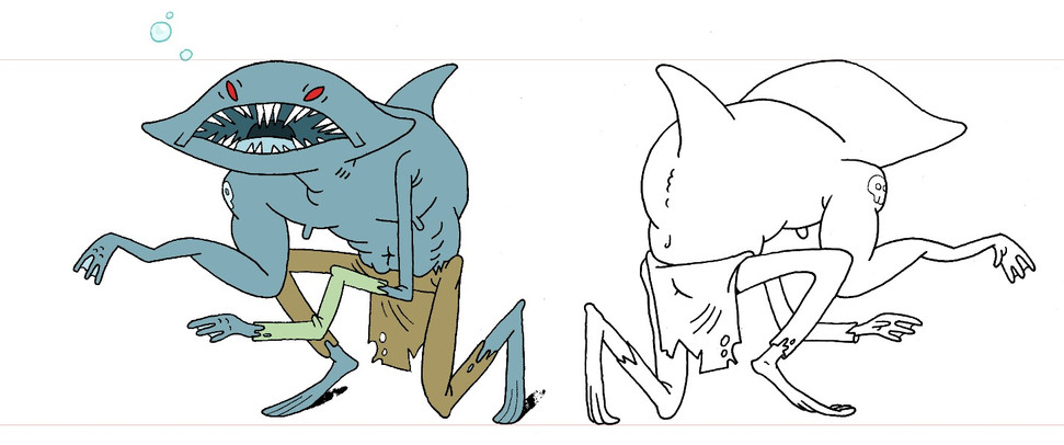 The not-so-incredable Shark Man!