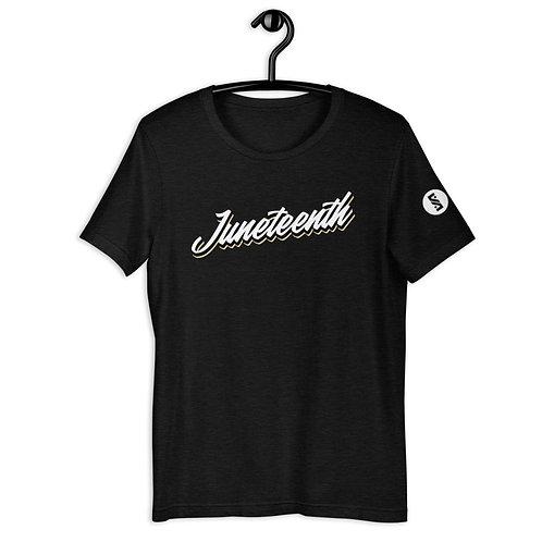 Simple Juneteenth Short-Sleeve Unisex T-Shirt
