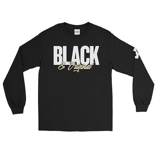 Black & Original Sleeve Shirt