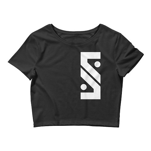 SSL Black Crop Top