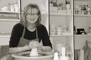 Monika Niederberger in ihrem Atelier in Adligenswil