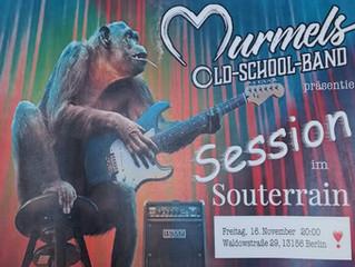 Murmel's Old School Band - Live-Musik im Souterrain