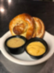 Soft pretzel with beer cheese.jpeg