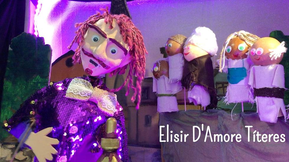 2x1 Elisir D'Amore Títeres