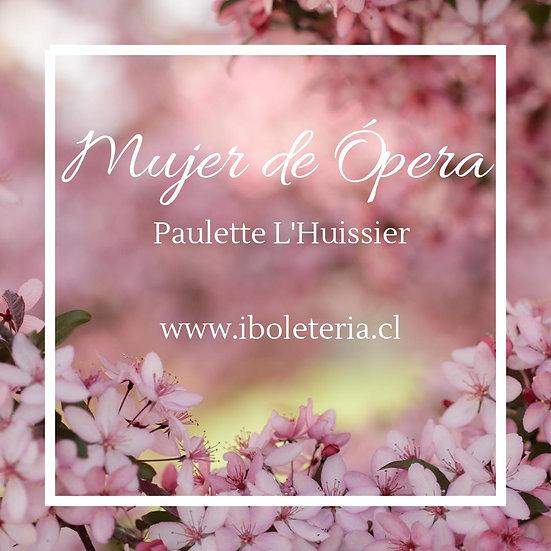 Mujer de Ópera