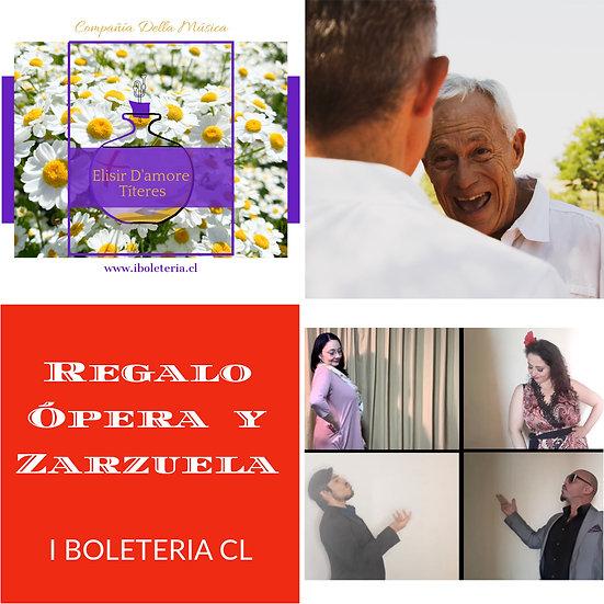 Regalo Ópera y Zarzuela