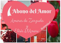 Abono del Amor. Dos comedias: un Elisir D'Amore y una Cómica gala de Zarzuela