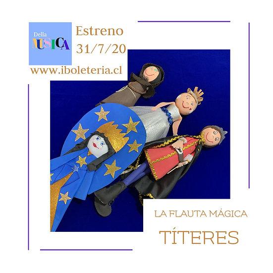 Flauta Mágica Títeres Subtitulada