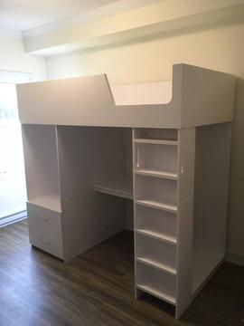 Bunk bed/storage unit