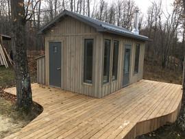 Guest cabin + sauna