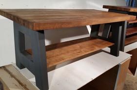 Coffee table & entertainment unit set