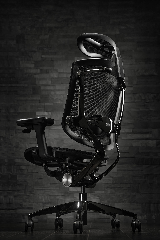 Packshot, fauteuil ergonomique, Metz