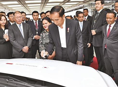 현대자동차, 인도네시아에 1조8천억 투자 공장 설립