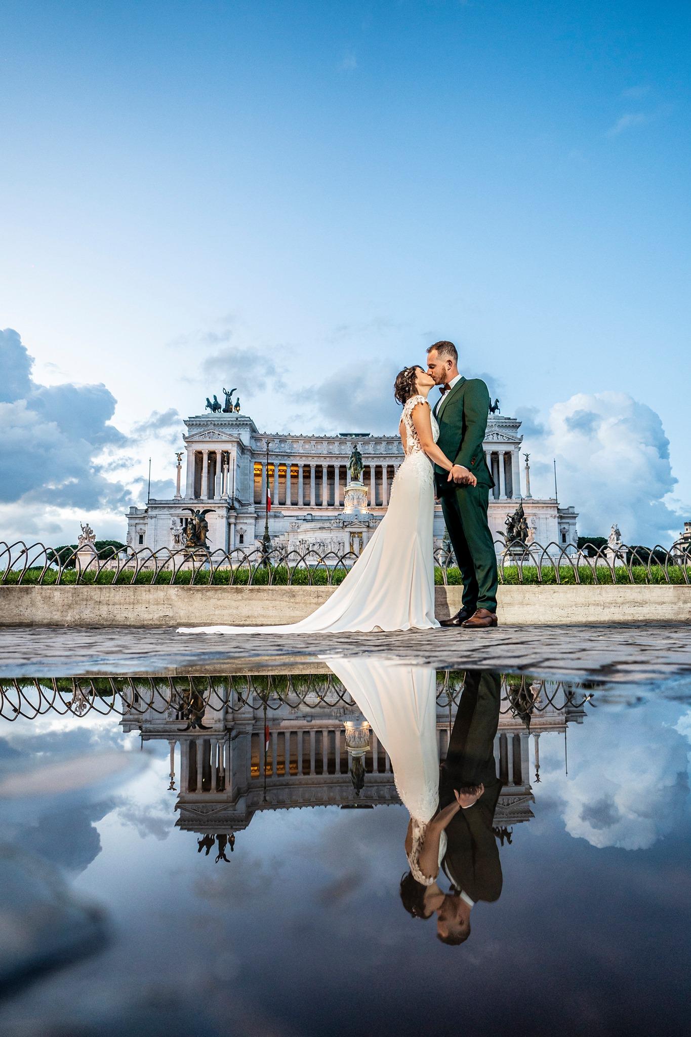 Mariage, Rome, Italie