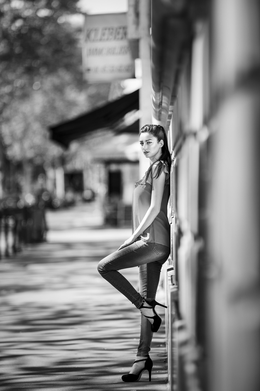 Portrait, Rue, Ville