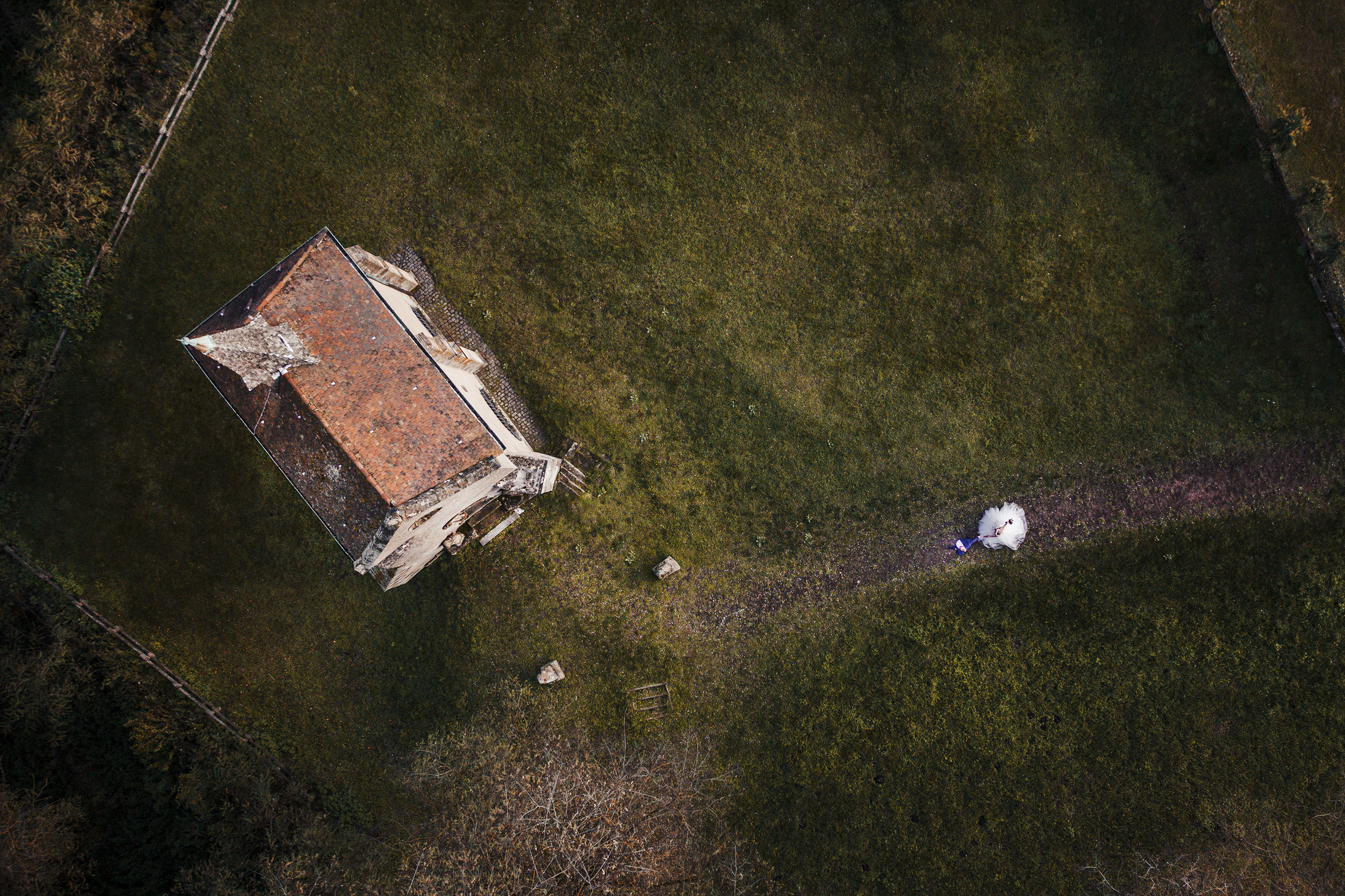 Mariage, Moselle, Drone