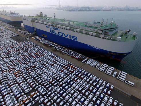 올해 자동차 수출액 4년 만에 최대…전년比 8.9% 증가