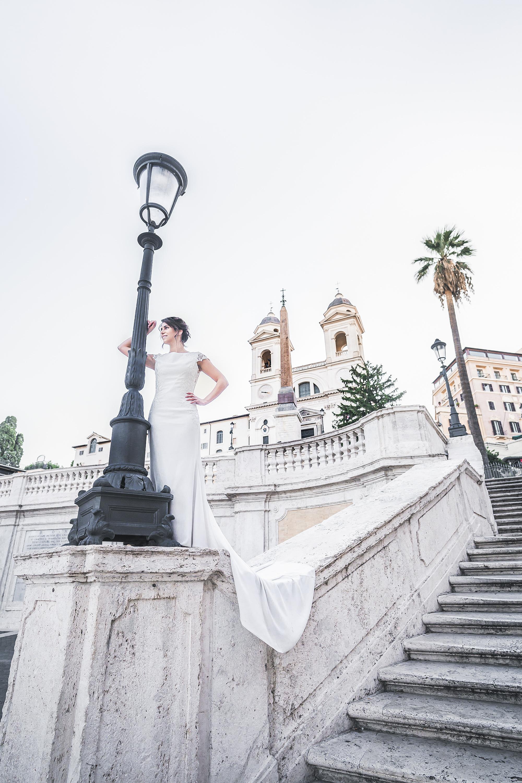 Mariée, Rome, Italie
